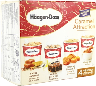 HÄAGEN-DAZS Caramel Attraction Vanilla Caramel Brownie | Test y Opiniones HÄAGEN-DAZS Caramel Attraction Vanilla Caramel Brownie | OCU