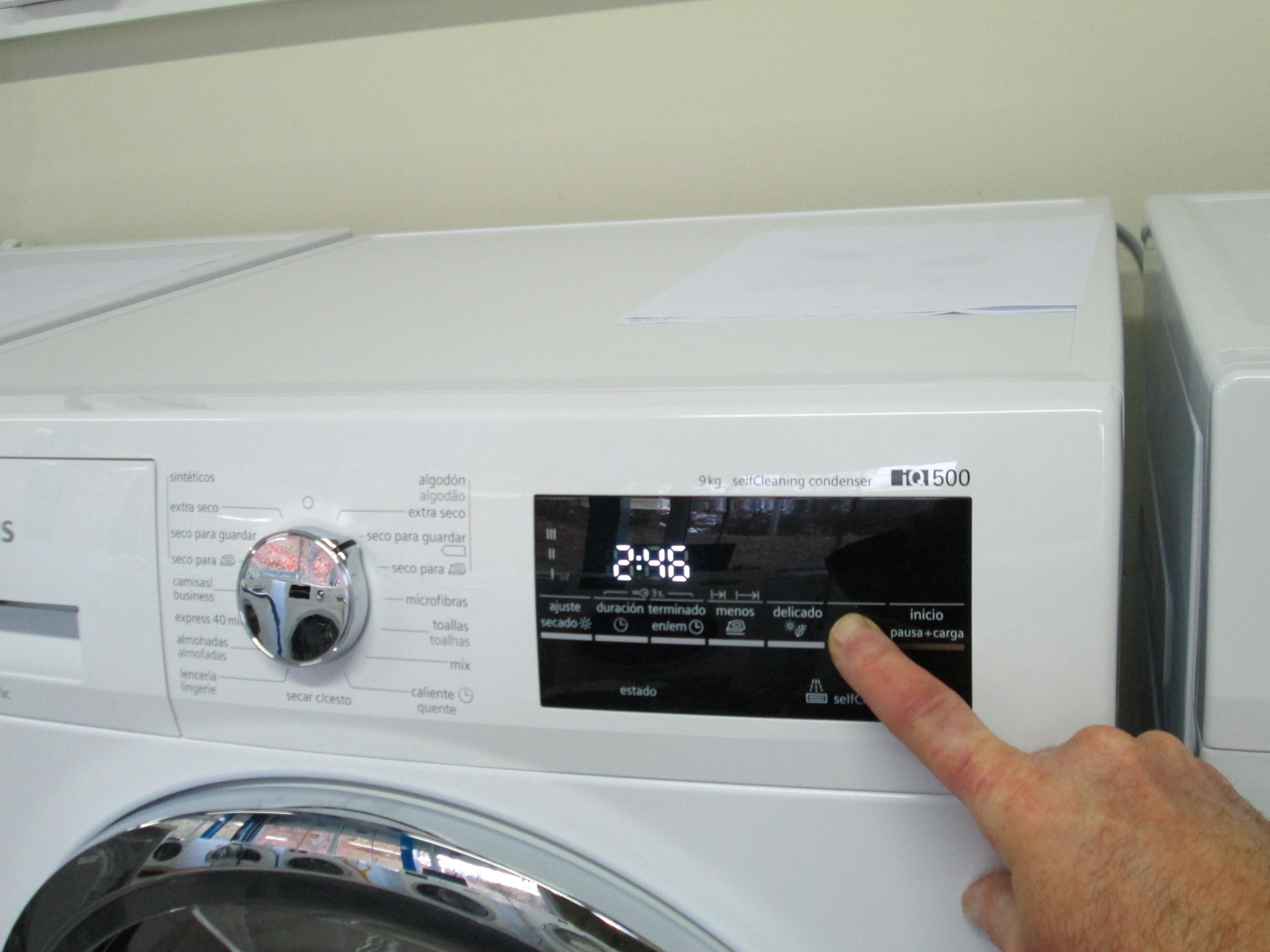 Analisis De Siemens Wt47g439ee Comparador De Secadoras Ocu