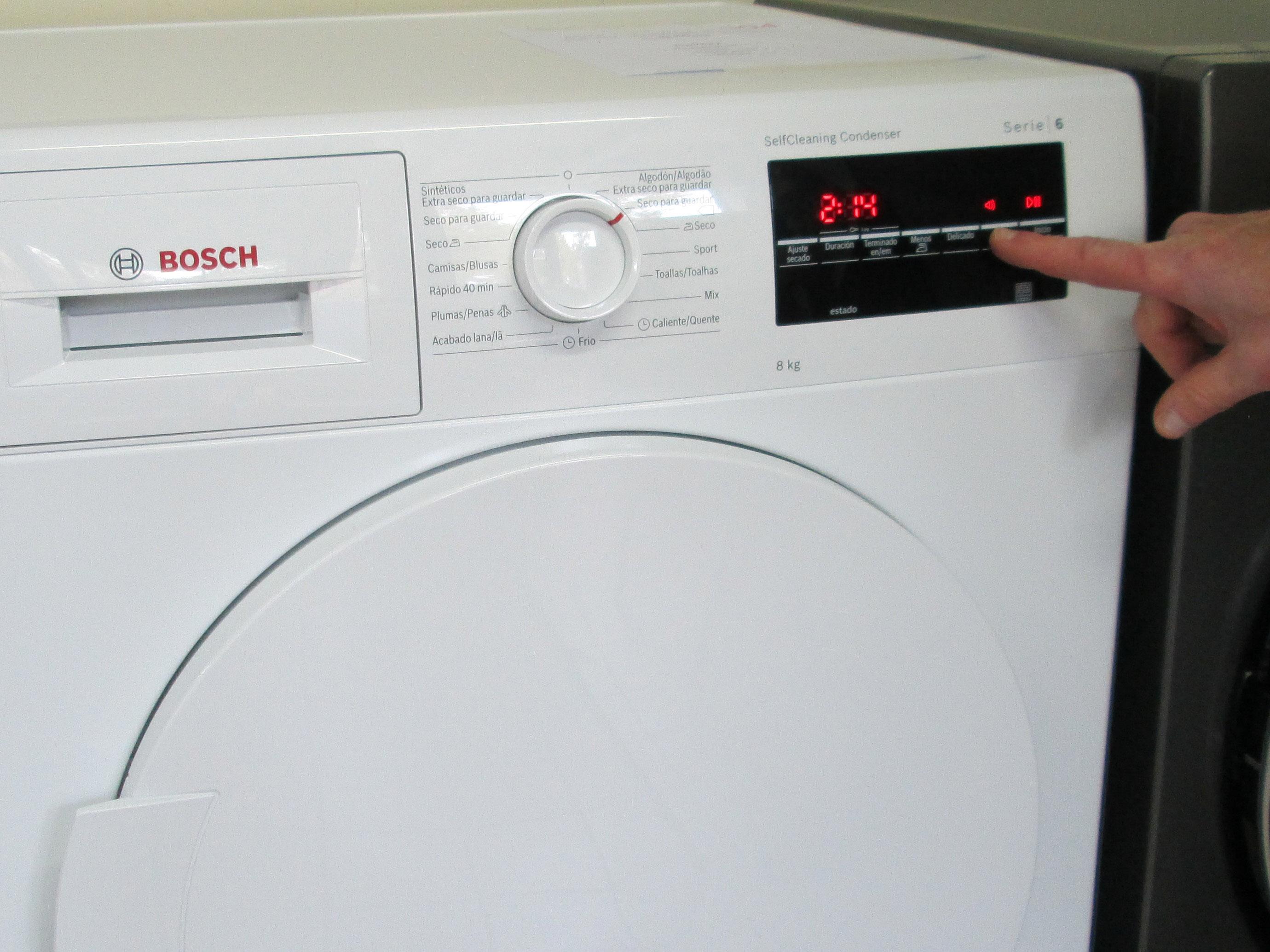 Analisis De Bosch Wtg87228ee 05 Comparador De Secadoras Ocu