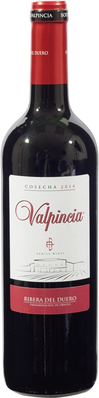 VALPINCIA Cosecha, Joven, 2014, Tinto