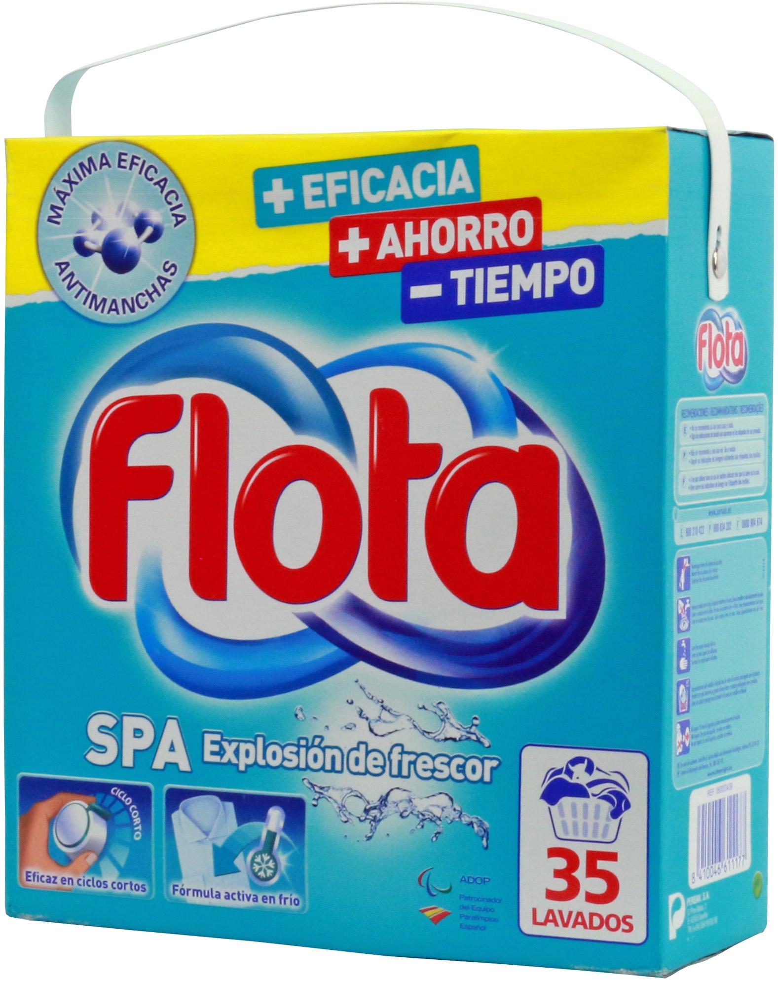An Lisis De Flota Spa Polvo Comparador De Detergentes Para  ~ Mejor Detergente Lavadora Calidad Precio
