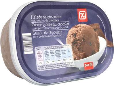 DIA HELADO DE CHOCOLATE CON TROCITOS DE CHOCOLATE | Test y Opiniones DIA HELADO DE CHOCOLATE CON TROCITOS DE CHOCOLATE | OCU