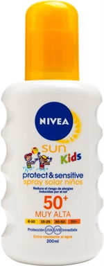 NIVEA SUN KIDS Protec & Sensitive 50+, Spray