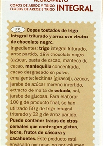 CROWNFIELD (LIDL) SPECIAL FLAKES CHOCOLATE. | Test y Opiniones CROWNFIELD (LIDL) SPECIAL FLAKES CHOCOLATE. | OCU