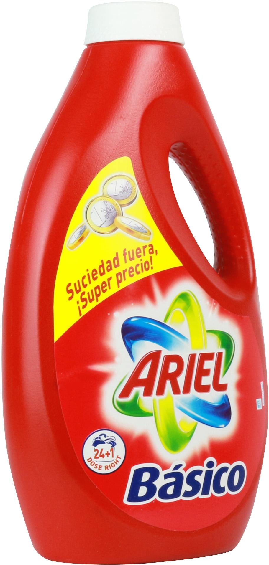 An Lisis De Ariel B Sico L Quido Comparador De Detergentes Para  ~ Mejor Detergente Lavadora Calidad Precio