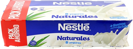 NESTLÉ Yogur natural