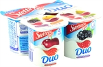 SVELTESSE LIGHT (NESTLÉ) Yogur desnatado, Duo fresa y cereza | Comparador de yogures con fresa | OCU