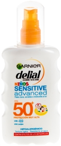 GARNIER AMBRE SOLAIRE Niños Sensitive Advanced SPF 50+ | Test y Opiniones GARNIER AMBRE SOLAIRE Niños Sensitive Advanced SPF 50+ | OCU