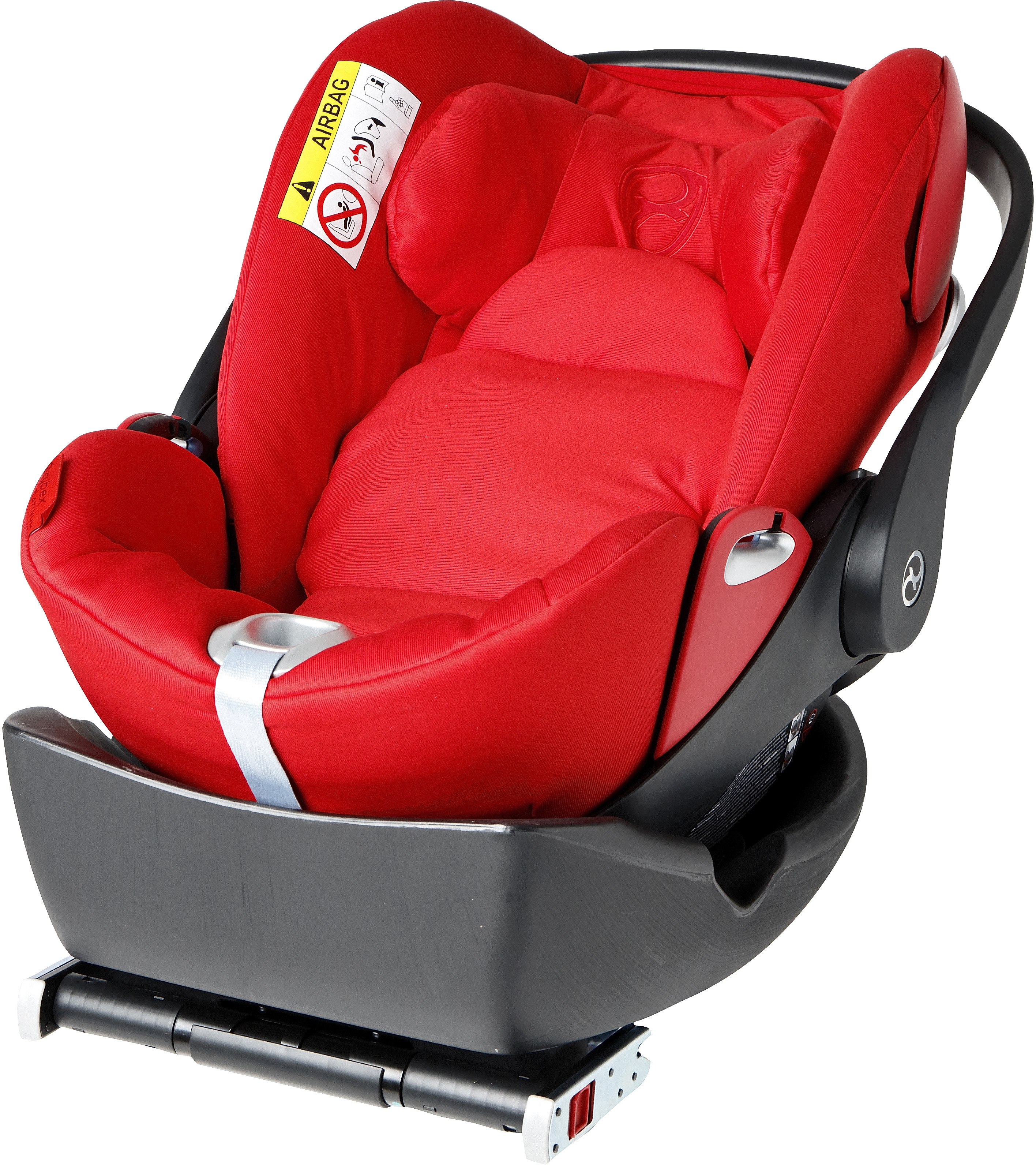 test y opiniones cybex cloud q base isofix ocu. Black Bedroom Furniture Sets. Home Design Ideas