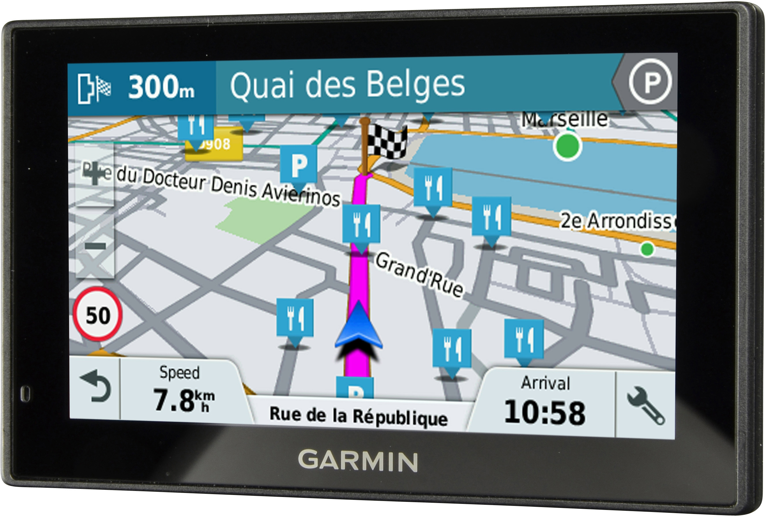 test y opiniones garmin drivesmart 51 lmt s weu ocu. Black Bedroom Furniture Sets. Home Design Ideas
